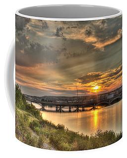 Sunset Over The Great Falls Coffee Mug