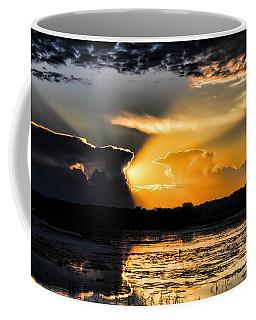 Sunset Over The Mead Wildlife Area Coffee Mug