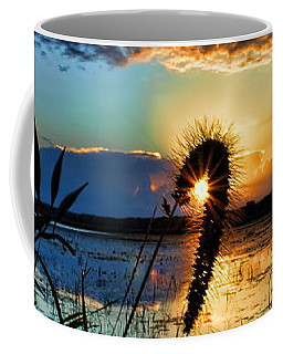 Sunset Over The Refuge Coffee Mug