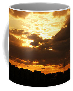 Sunset Over The Thames From Greenwich Coffee Mug