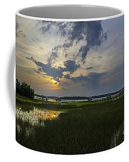 Sunset Over The Wando Coffee Mug
