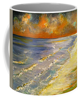 Sunset Passion At Cranes Beach Coffee Mug