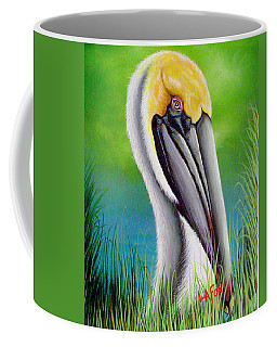 Sunset Pelican Coffee Mug
