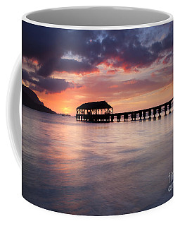 Sunset Pier Coffee Mug