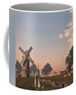 Sunset Play Coffee Mug