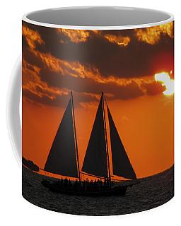 Key West Sunset Sail 3 Coffee Mug