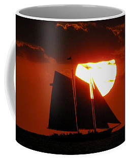 Key West Sunset Sail 5 Coffee Mug