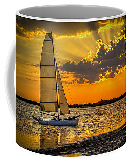 Sunset Sail Coffee Mug by Marvin Spates