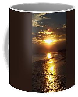 Sunset  Sand  Waves Coffee Mug