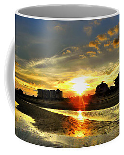 Coffee Mug featuring the photograph Sunset by Savannah Gibbs