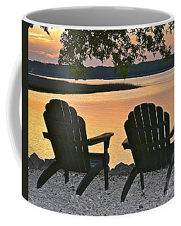 Coffee Mug featuring the photograph Sunset Serenity by Carol  Bradley