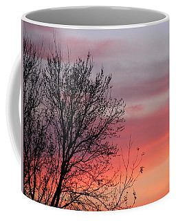 Sunset Silhouette Coffee Mug