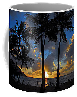 Sunset Silhouettes Coffee Mug by Lynn Bauer