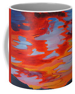 Sunset Skies Coffee Mug by Meryl Goudey