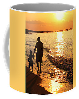 Sunset Stroll Coffee Mug