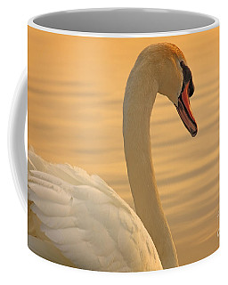Sunset Swan Coffee Mug