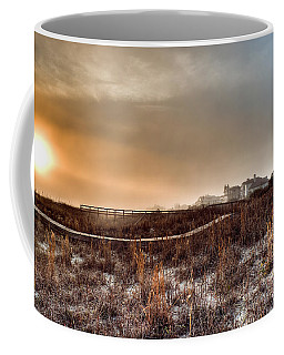 Sunset Through The Fog Coffee Mug