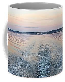 Sunset Wake Coffee Mug by Sean Griffin
