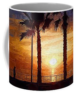 Sunset Walk Coffee Mug by Kirt Tisdale