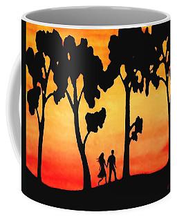 Sunset Walk Coffee Mug