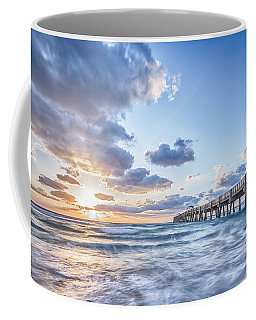 Sunshine At The Pier Coffee Mug
