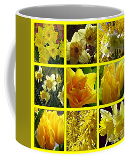 Sunshine Gold Picture Window Coffee Mug