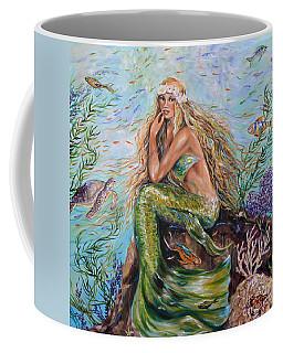 Sunshine Mermaid Square Coffee Mug
