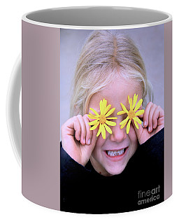 Sunshine Smile Coffee Mug by Suzanne Oesterling