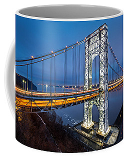 Super Bowl Gwb Coffee Mug by Mihai Andritoiu