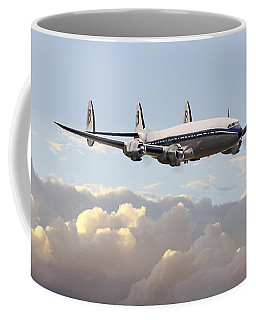 Super Constellation - End Of An Era Coffee Mug by Pat Speirs