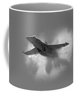 Super Hornet Shockwave Bw Coffee Mug