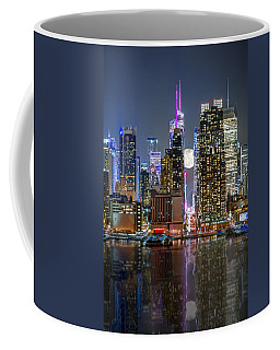 Super Moon At 42nd Street  Coffee Mug