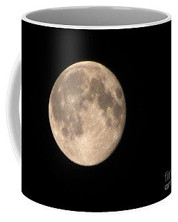 Coffee Mug featuring the photograph Super Moon by David Millenheft