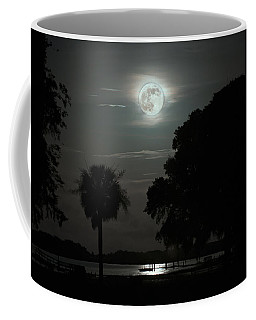 Super Moon Over Wimbee Creek Coffee Mug