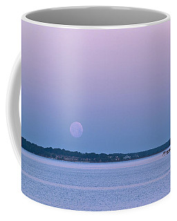 Super Moon Setting-1 Coffee Mug