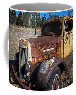 Super White Truck Coffee Mug