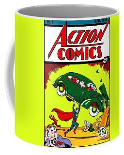 First Edition - Superman Comic Book  Coffee Mug