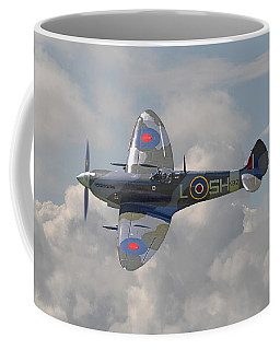 Supermarine Spitfire Coffee Mug by Pat Speirs