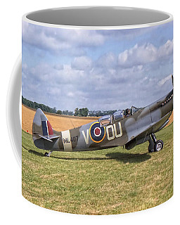 Supermarine Spitfire T9 Coffee Mug