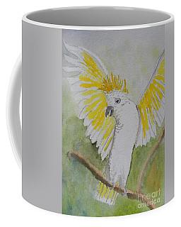 Suphar Crested Cockatoo Coffee Mug