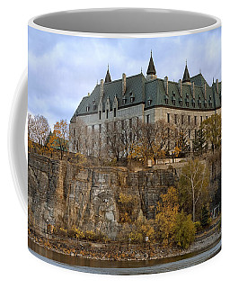 Coffee Mug featuring the photograph Supreme Court by Eunice Gibb