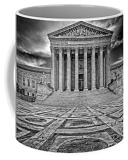 Coffee Mug featuring the photograph Supreme Court by Peter Lakomy