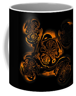 Coffee Mug featuring the digital art Suranan Artifact by Judi Suni Hall