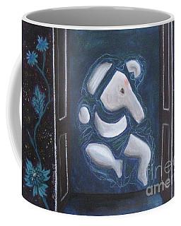 Coffee Mug featuring the painting Surananda by Mini Arora