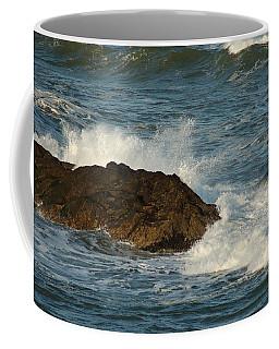 Surf And Rocks Coffee Mug