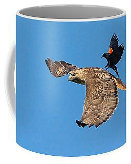 Surfer Bird  Coffee Mug