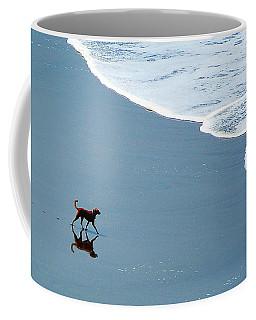 Surfer Dog Coffee Mug
