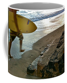 Surfer In Motion Coffee Mug