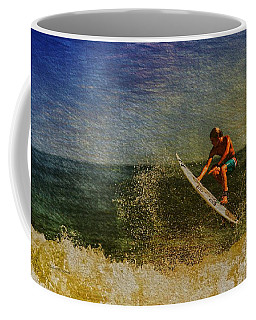 Surfer In Oil Coffee Mug