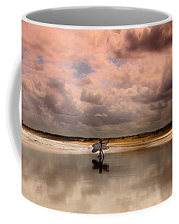 Surf Day Coffee Mug by Edgar Laureano